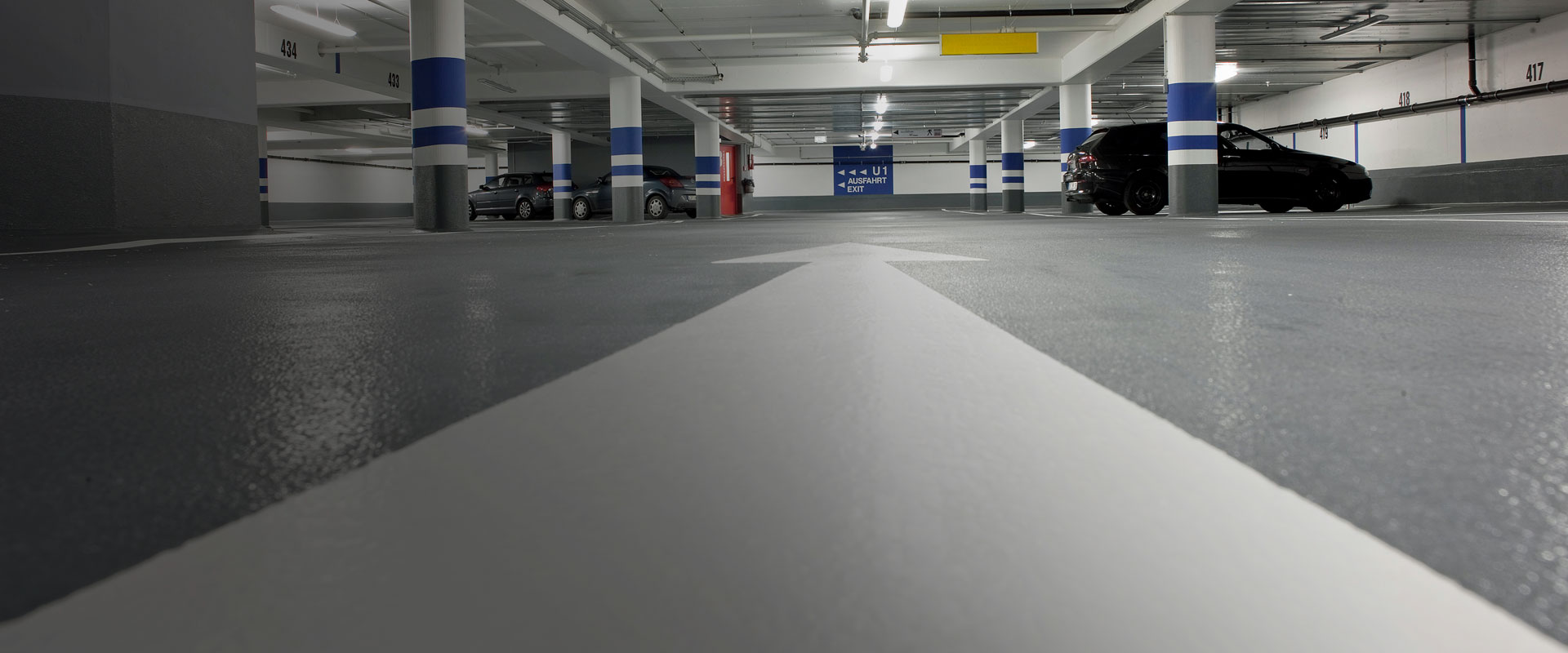 New OS 10 car park coating system from MC-Bauchemie – fast-acting and with exceptional crack-bridging properties